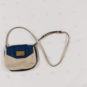 Marc by Marc Jacobs small blue accented crossbody